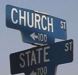 POPE MILLS, WHERE IS THE SEPARATION OF CHURCH AND STATE?
