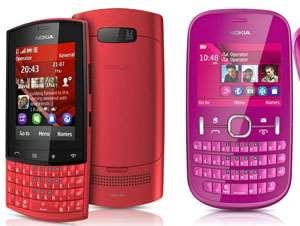 The Nokia Asha 303 and Nokia Asha 201