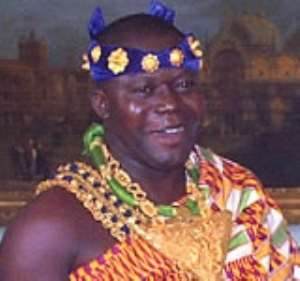 Otumfuo receives Honorary Doctorate Degree Award in London