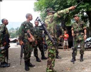 Commandos head to East Timor
