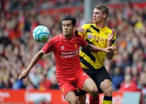 Philippe Coutinho vows to improve for Liverpool