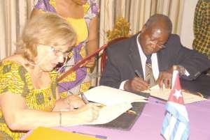 Ghana, Cuba strengthen relations