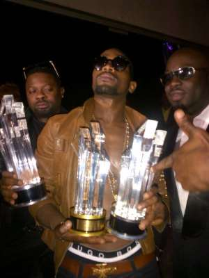 Full list of winners at the 2012 Channel O Music Video Awards