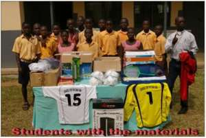 DONATION TO SCHOOL FOR THE DEAF - KIBI