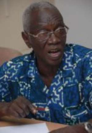 Dr Kwadwo Afari Djan - Chairman of Electoral Commission