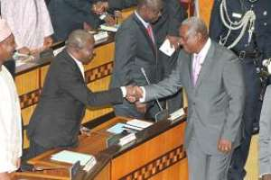 GOOD TIMES AHEAD  ….Mahama Assures Nation And Calls For Support