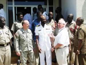 Forces Discuss Disaster Management