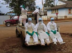 First British Ebola treatment facility opens in Sierra Leone