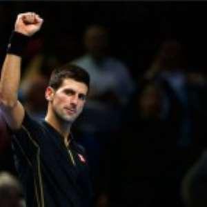 Djokovic Brushes  Murray  Aside