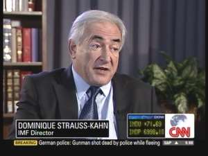 IMF DIRECTOR TALKS TO CNN ABOUT EFFECTS OF FINANCIAL CRISIS IN AFRICA