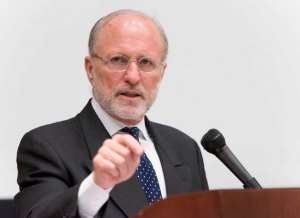 Dr. James Cuno president and CEO of the J. Paul Getty Trust