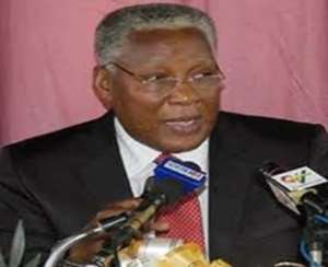 Hon. E.T Mensah-Minister of Employment and Social Welfare