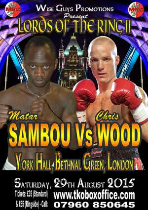Young Prospects Sambou And Wood Battle For Supremacy This Saturday