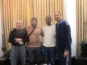 Earl Klugh arrives in Accra for Stanbic Jazz Festival