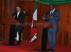 Ghana, Iran To Deepen Ties In Education, Agric, Tourism, Sports