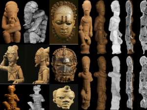 Germans Loot Nigerian Artefacts