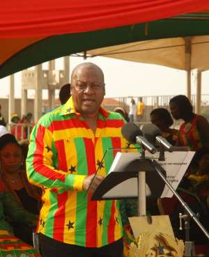 President Mahama calls for release of land for development