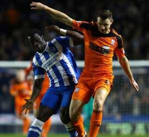Brighton boss Chris Hughton labels Ghanaian Elvis Manu a flop, hints club might offload ex-Feyenoord star