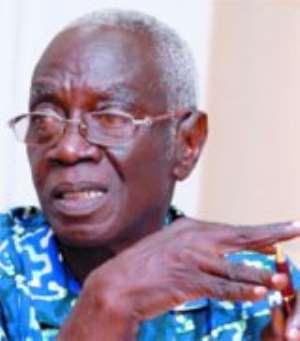 Dr Kwadwo Afari-Gyan, Chairman of the Electoral Commission.