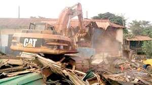 Demolition Rocks Takoradi