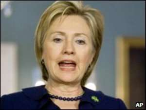 Hillary Clinton said 1.4 million refugees were at risk