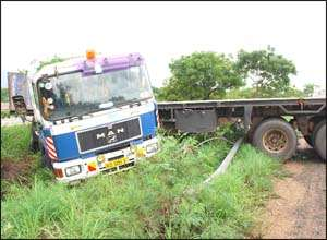Multiple Accident On Motorway