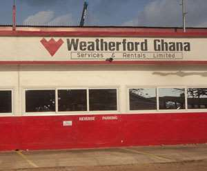 Weatherford Ghana premises