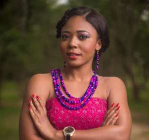 Ewoenam of Ghana's Most Beautiful fame gives to two institutions
