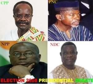 Presidential debates, step in right direction
