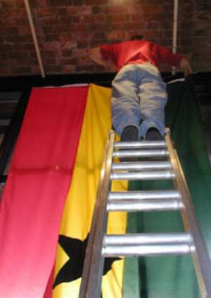 Are failing the next generation from holding our Ghanaian flag