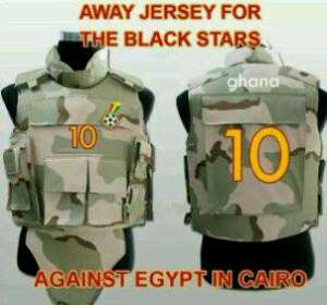 Joke: Black Stars militarised against Cairo armourment