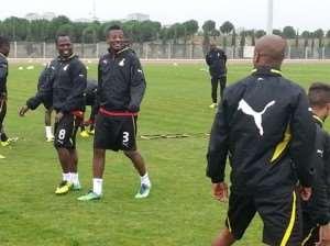 We will miss Gyan and Asamoah, says Ghana midfielder Agyemang-Badu