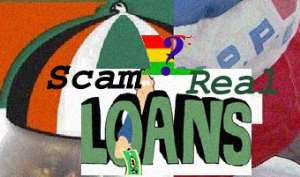 Loan agreement is a scam -NDC