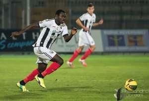 Former Ghana U20 star Bright Addae scores again for Ascoli in Italian third-tier