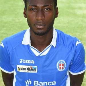 Novara forward Emmanuel Agyemang reveals snubbing Italy; keen on Ghana
