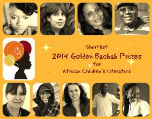 Golden Baobab Prizes Announce 2014 Shortlisted Writers