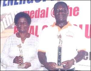 Apau-Oppong, Nyarko Win Royal Club Medal Golf