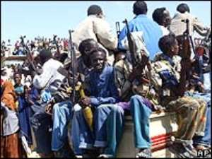 Gun battles rage on in Mogadishu