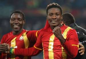 Ghana duo of Asamoah Gyan, Kwadwo Asamoah named for CAF Player of the Year