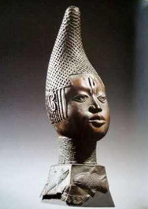 Queen-Mother-Idia, Benin, Nigeria, now in Ethnologisches Museum, Berlin, Germany.