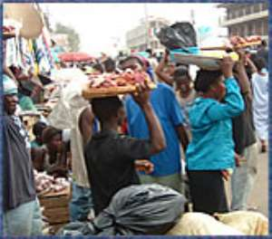 Hawkers fined 13 million cedis
