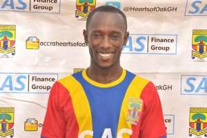 Hearts of Oak outcast Emmanuel Hayford joins Dreams FC