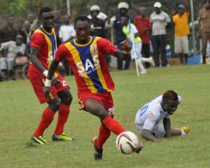 Delayed league start affecting economy – Hearts defender Owusu Bempah
