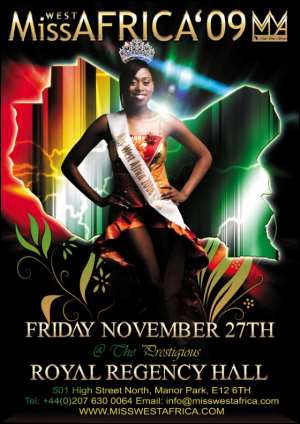 MISS WEST AFRICA 2009 IS HERE!!