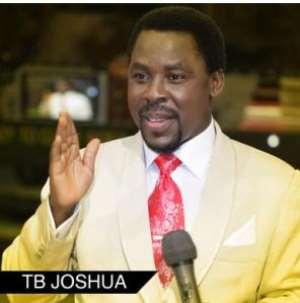 T. B. JOSHUA IS FAKE