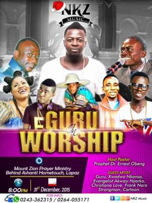 Guru To Preach Congregation At Mount Zion Prayer Ministry