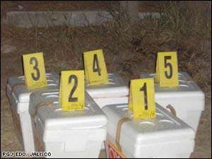 Five Human Heads Found In Ice Chests In Mexico