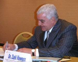 Zahi Hawass states Egypt's claim on the return of antiquities