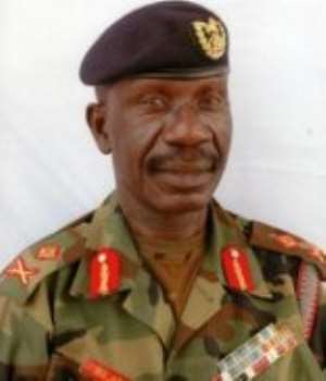 The Chief of the Defence Staff of the Ghana Armed Forces, Lieutenant General Peter Augustine Blay