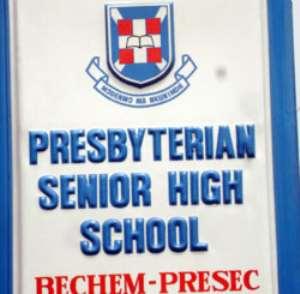 Bechem Presec School signpost